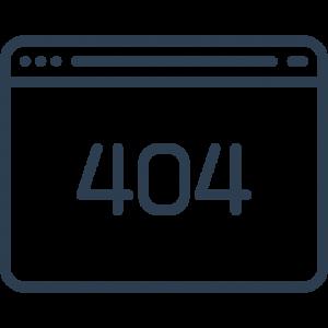 Fehler 404 - Seite nicht gefunden