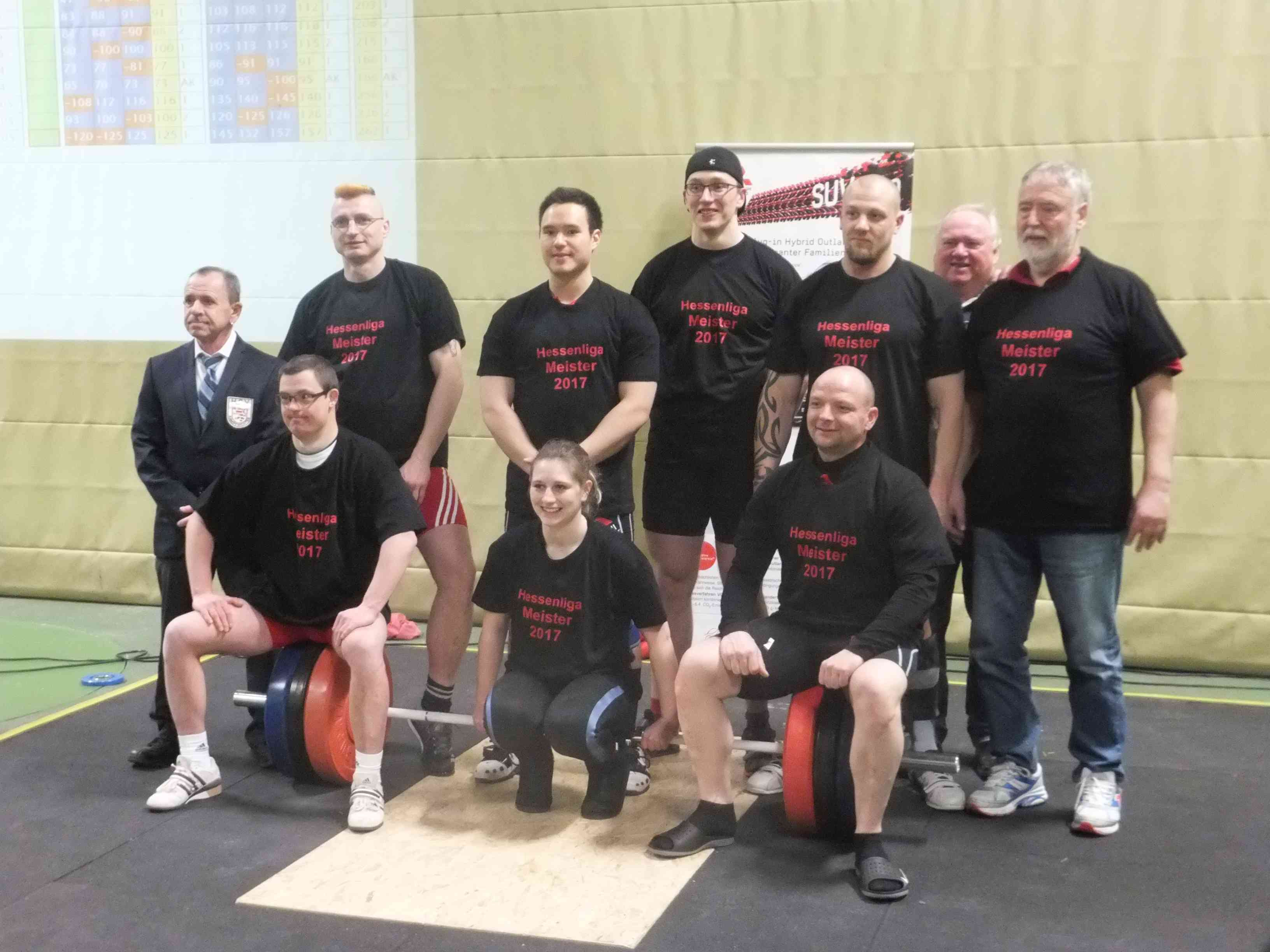 Wettkampf Hessenliga 25.02.2017