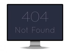 Fehler 404 Seite nicht gefunden