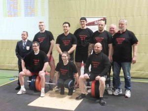 Die Teilnehmer des SAV im Gruppenbild